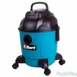 Bort BSS-1218 Пылесос строительный [91272256] 1200 Вт, вместимость 18 л, 26,5 л/сек, 6,3 кг, набор аксессуаров 7 шт
