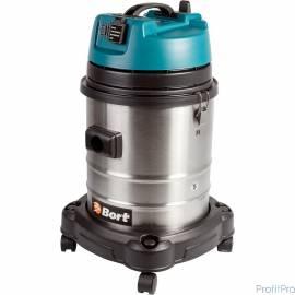 Bort BSS-1440-Pro Пылесос строительный [98297089] 1400 Вт, вместимость 40 л, 38 л/сек, 10 кг, набор аксессуаров 10 шт