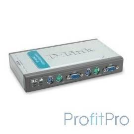D-Link DKVM-4K/A7B 4-портовый KVM-переключатель с портами PS2