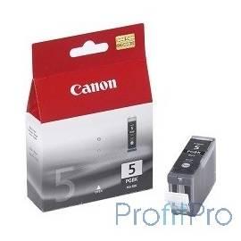 Canon PGI-5Bk 0628B024 Картридж для Canon MP500/800/iP4200/R5200/522R, Черный, 505стр.