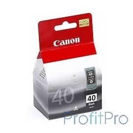 Canon PG-40Bk 0615B025 Картридж для Canon MP150/170/450/iP2200/iP1600, Черный, 16ml