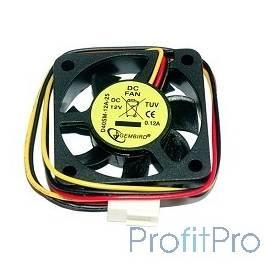Gembird Вентилятор 40x40x10, шнур 25см, 3pin [D40SM-12A-25]