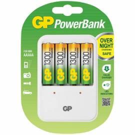 Зарядное устройство GP PB420GS130-2CR4 + 4шт акк. HR06 1300mAh