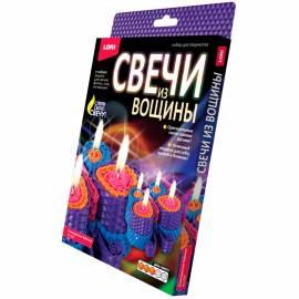 """Набор для лепки свечей Lori """"Свечи из вощины. Разноцветная бабочка"""", картонная коробка"""