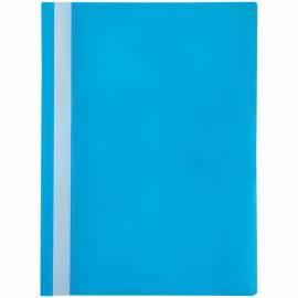 Папка-скоросшиватель пластик. OfficeSpace, А4, 120мкм, голубая с прозр. верхом