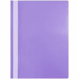 Папка-скоросшиватель пластик. OfficeSpace, А4, 120мкм, фиолетовая с прозр. верхом