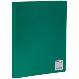 Папка с 10 вкладышами OfficeSpace, 15мм, 500мкм, зеленая