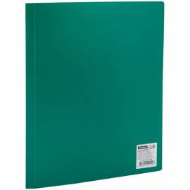 Папка с 20 вкладышами OfficeSpace, 15мм, 500мкм, зеленая