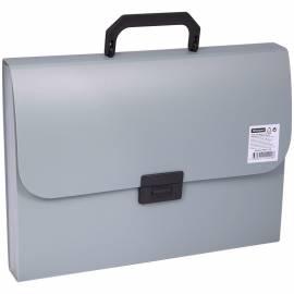 Папка-портфель 7 отделений OfficeSpace, 700мкм, серый