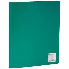 Папка с пластиковым cкоросшивателем OfficeSpace, 15мм, 500мкм, зеленая