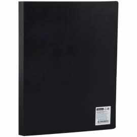 Папка с пластиковым cкоросшивателем OfficeSpace, 15мм, 500мкм, черная