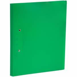 Папка с зажимом OfficeSpace, 20мм, 400мкм, зеленая
