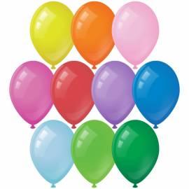 Воздушные шары, 10шт., M10/25см, ArtSpace, пастель,10 цветов ассорти