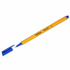 """Ручка капиллярная Berlingo """"Rapido"""" синяя, 0,4мм, трехгранная"""