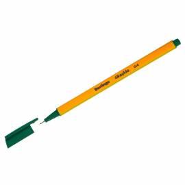 """Ручка капиллярная Berlingo """"Rapido"""" зеленая, 0,4мм, трехгранная"""