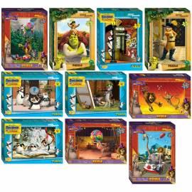 """Пазл 54 эл. Step Puzzle """"DreamWorks"""", картонная коробка"""