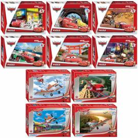 "Пазл   54 эл. Step Puzzle ""Disney. Тачки/Самолеты"", картонная коробка"