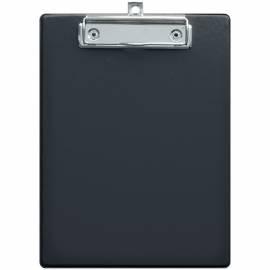 Планшет с зажимом OfficeSpace А5, ПВХ, черный