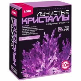 """Набор для выращивания кристаллов Lori """"Лучистый фиолетовый"""", от 10-ти лет"""