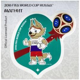 """Магнит FIFA 2018 """"Забивака. Россия"""", картон"""
