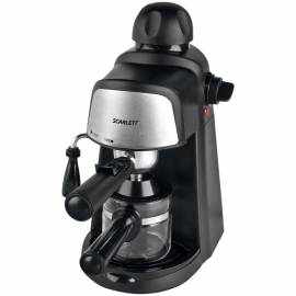 Кофеварка рожковая Scarlett SC-037, 2-4 чашки, 800Вт