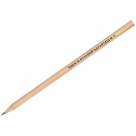 Карандаш ч/г Русский карандаш Т (H), заточен.