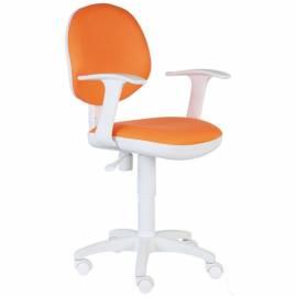 Кресло детское Бюрократ CH-W356AXSN/15-75 оранжевый, пластик белый