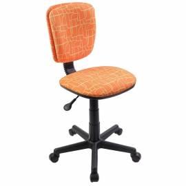 Кресло детское Бюрократ CH-204NX/GIRAFFE оранжевый жираф, без подлокотников