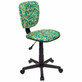 Кресло детское Бюрократ CH-204NX/PENCIL-GN зеленый карандаши, без подлокотников