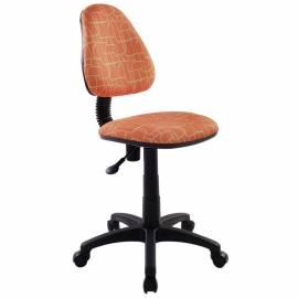 Кресло детское Бюрократ KD-4/GIRAFFE оранжевый жираф, без подлокотников