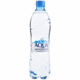Вода питьевая негазированная АкваМинерале, 0,6л, пластиковая бутылка