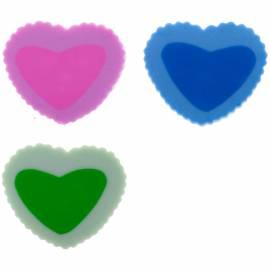 """Ластик ArtSpace """"Сердечки"""", фигурный, термопластичная резина, 22*20*6мм"""