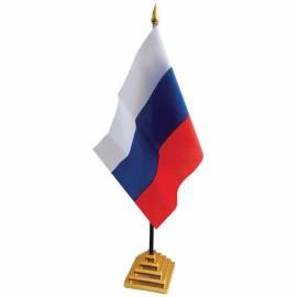 """Флаг настольный """"Россия"""" ArtSpace, пластик. подставка"""