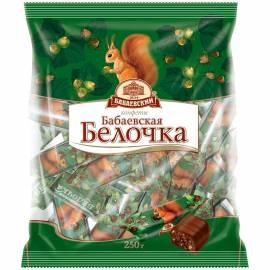 """Шоколадные конфеты Бабаевский """"Бабаевская Белочка"""", 200г, пакет"""
