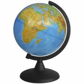 Глобус физический Глобусный мир, 21см, на круглой подставке