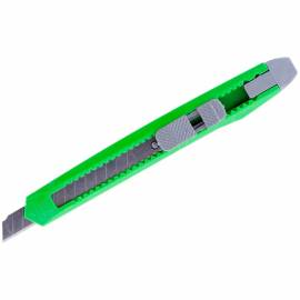 Нож канцелярский 9мм OfficeSpace, с фиксатором, европодвес