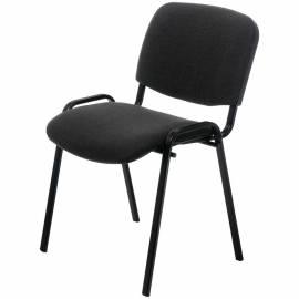 """Стул Furniture """"Изо"""", каркас черный, обивка ткань черная"""
