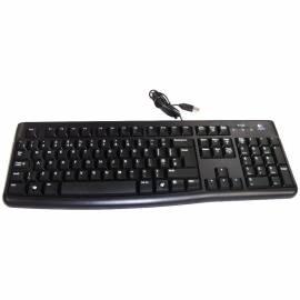 Клавиатура Logitech K120, USB, черный