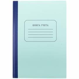 Книга учета OfficeSpace, А4, 96л., клетка, твердый картон, блок газетный