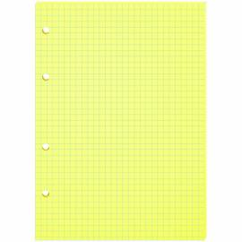 Сменный блок 80л., А5, OfficeSpace, желтый, пленка т/у