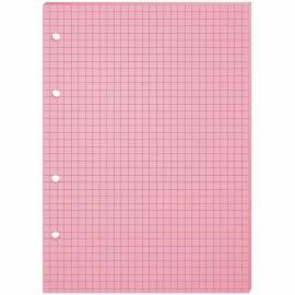 Сменный блок 80л., А5, OfficeSpace, розовый, пленка т/у