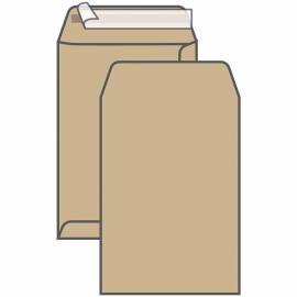 Пакет почтовый В4, UltraPac, 250*353мм, коричневый крафт, отр. лента, 90г/м2