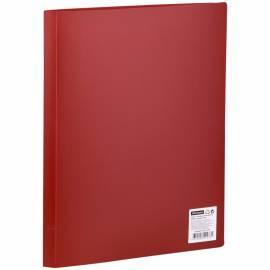 Папка с 10 вкладышами OfficeSpace, 15мм, 500мкм, красная