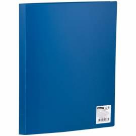 Папка с 10 вкладышами OfficeSpace, 15мм, 500мкм, синяя