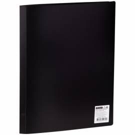 Папка с 10 вкладышами OfficeSpace, 15мм, 500мкм, черная