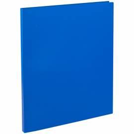 Папка с зажимом OfficeSpace, 15мм, 500мкм, синяя