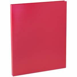 Папка с зажимом OfficeSpace, 15мм, 500мкм, красная
