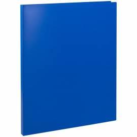 Папка с пружинным cкоросшивателем OfficeSpace, 15мм, 500мкм, синяя