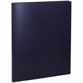 Папка с пружинным cкоросшивателем OfficeSpace, 15мм, 500мкм, черная