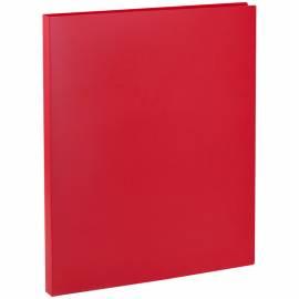 Папка с пружинным cкоросшивателем OfficeSpace, 15мм, 500мкм, красная